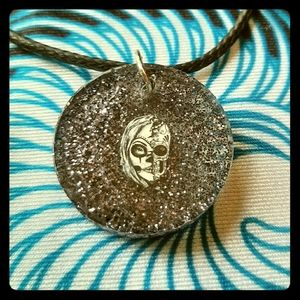 Jewelry - Sugar Skull Pendant and Necklace